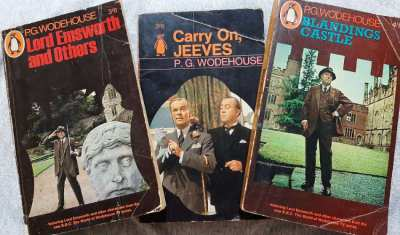 PG Wodehouse Lord Emsworth & Others, Carry On Jeeves, Blandings Castle