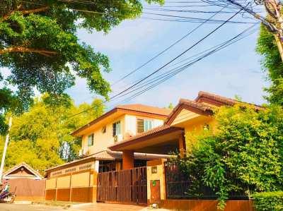 ขายบ้านเดี่ยวริมคลอง 105 ตารางวา ราคาถูกมาก บางใหญ่