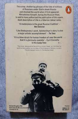 One Day in the Life of Ivan Denisovich - Solzhenitsyn