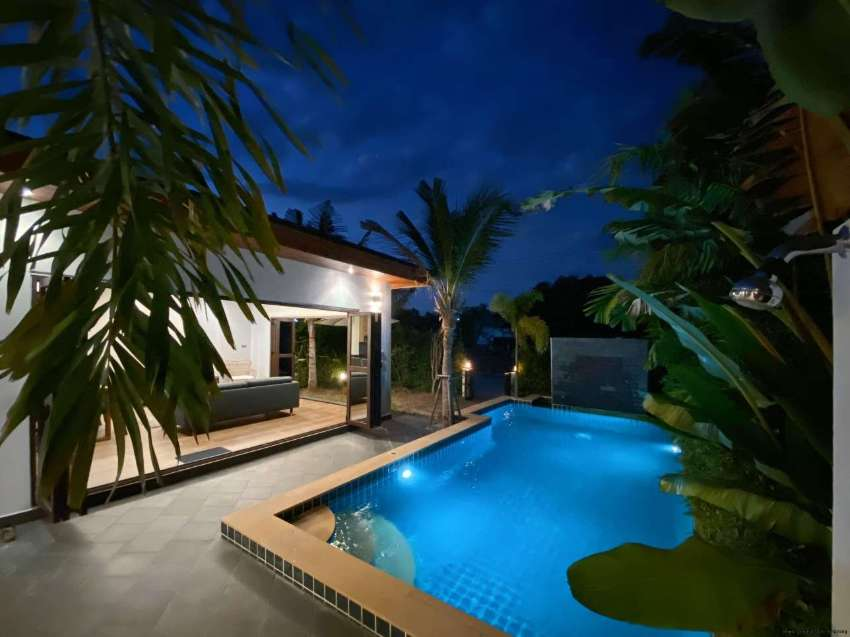 Attractive 2 bedroom pool villa on Mae Ramphueng beach