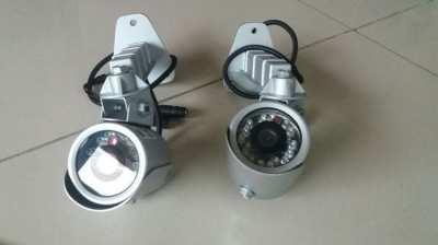 2 GE Security TVC-BIR-SR-IR Bullet Camera 380 TVL Color 4.3mm Fixed Le
