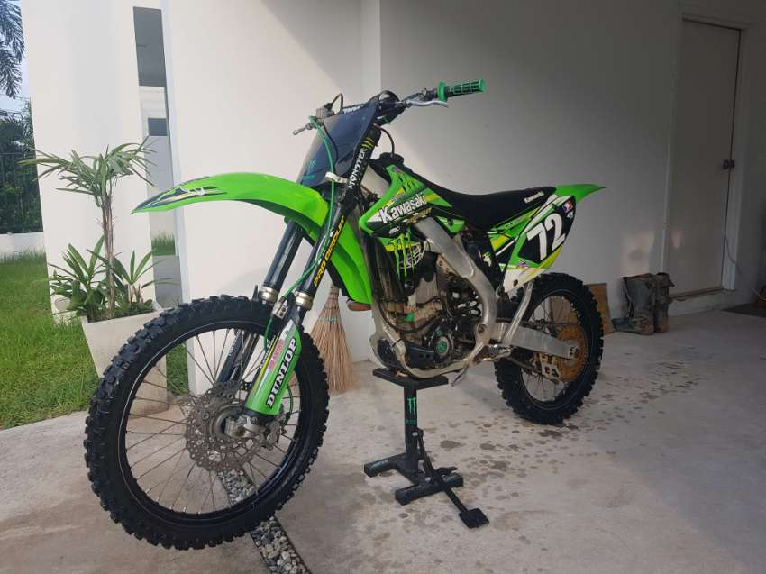 Motocross KX250F 2012 Double injection Really Well Maintained