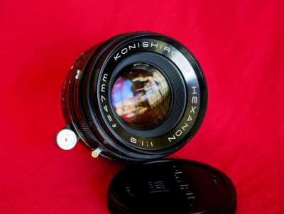 Konishiroku Hexanon 47mm f1.9 Lens for Micro Four Thirds (Olympus, Pan