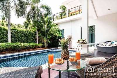 5 Bedroom Contemporary Pool Villas Near Silverlake
