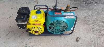 Bauer Junior 2 air compressor. Corrected price