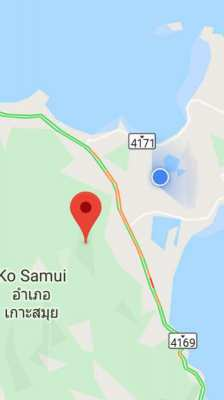 For sale Sea view lands in Chaweng Koh Samui 400 sqm - 512 sqm