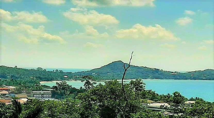 For sale sea view lands in Lamai Koh Samui 420sqm to 556sqm
