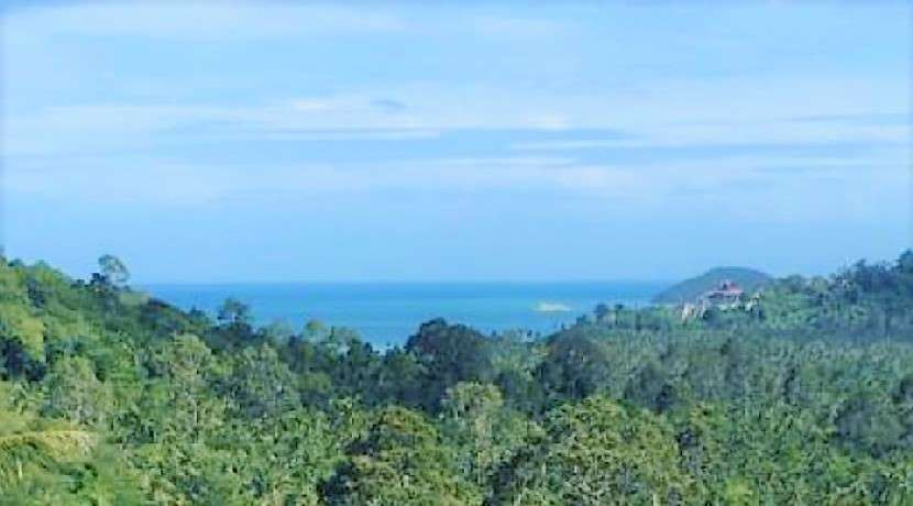 For sale sea view land in Taling Ngam - Koh Samui Sea view - 1672 sqm