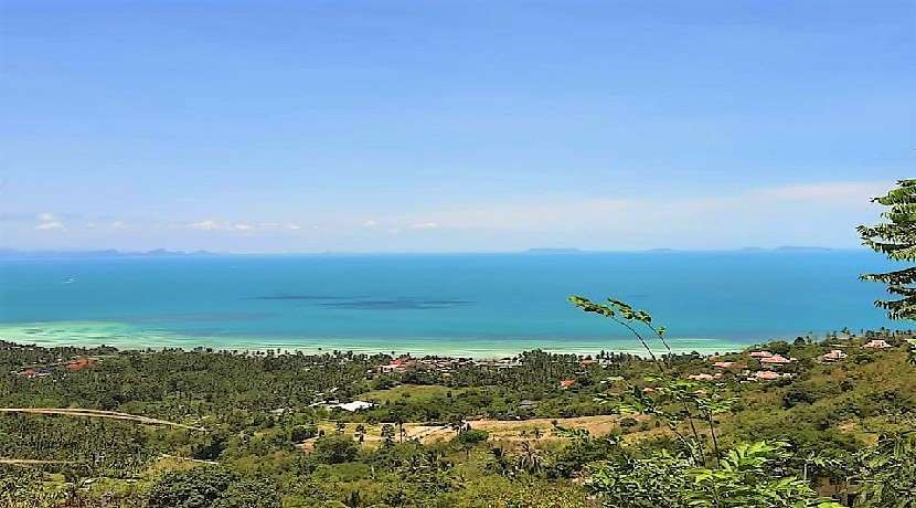 For sale sea view land in Bang Makham - Koh Samui 760sqm
