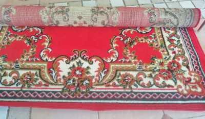 NEW!! Extra Quality Red Belgium Beautiful Carpet Exclusive Fiber