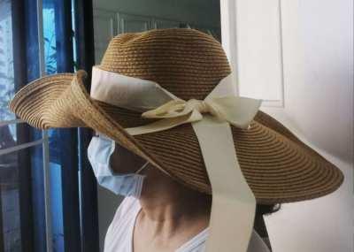 NEW!! Beautiful Stylish Hats with ribbon - Brown, Purple, White colors