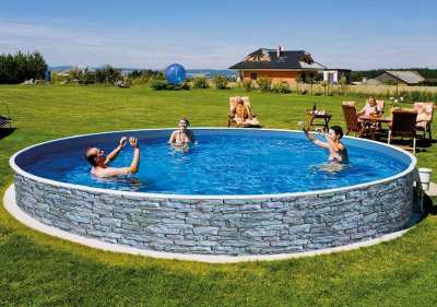 Swimming Pools, suitable for above-/inground installation