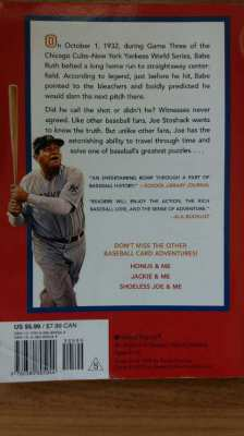 BABE and ME-A BASEBALL CARD ADVENTURE-BABE and the 1932 WORLD SERIES