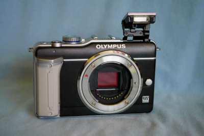 Olympus E-PL1 and E-PL5 Mirrorless Digital Cameras