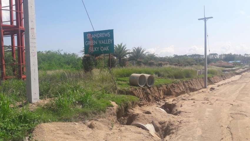 Premium Land for Sale 5.5 Rai verified by the land office see attached