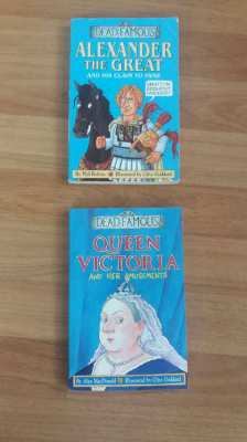 Dead Famous - Queen Victoria & Her Amusements - Alexander the Great