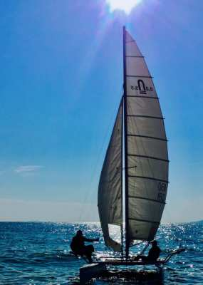 Nacra 5.5 Catamaran – Sale Price: THB 59,000 - reduced from THB 75,000