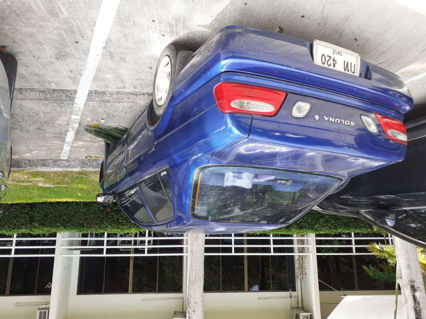 Toyota Soluna 15000 needs body work