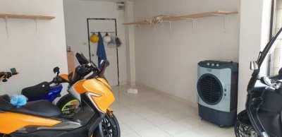 Pattaya motorbike and luggage storage