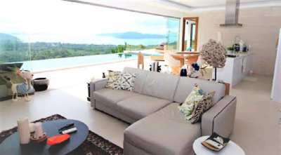 For sale villa sea view in Thong Krut Koh Samui