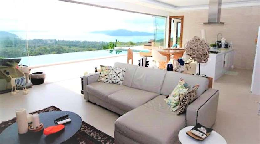 For sale villa sea view in Thong Krut Koh Samui