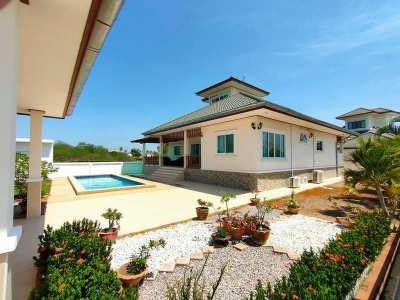 Hot! Furnished 3 BR 3 Bath Pool Villa on 712 sqm. Plot Nice Location