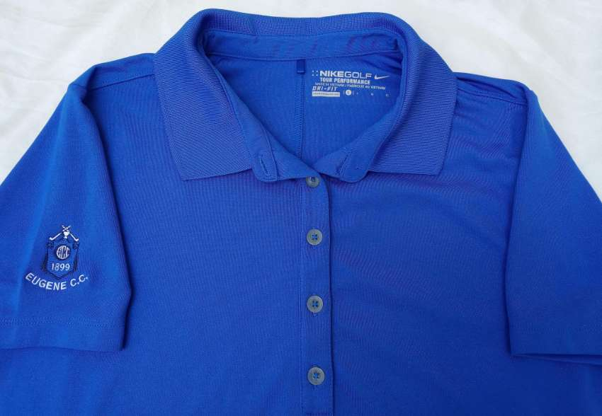 Golf shirt, Womens Nike Dri Fit golf shirt