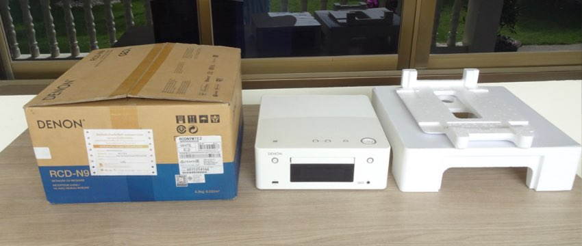 DENON CEOL RCD N-9 NETWORK CD PLAYER AND RECEIVER