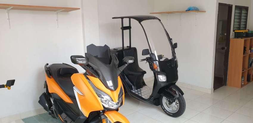 2020 pattaya motorbike and luggage storage