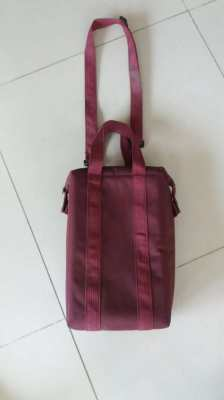 Insulated Wine Carrier Tote-Padded 2 Bottle Wine Cooler