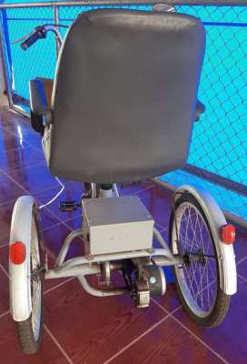 Battery Powered Tricycle - Modified for use by Senior Citizen