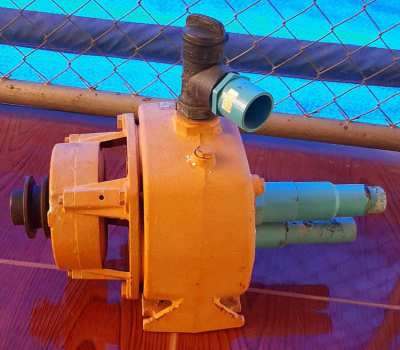 Water pump - Used to Pump Water From 65m Bore Hole, Driven by Iron Buf