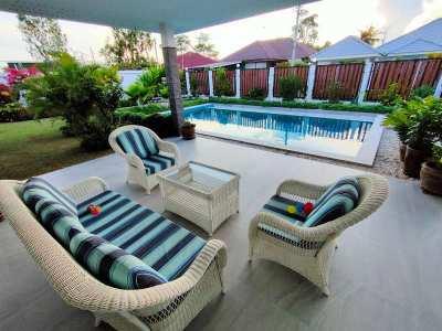 Hot! New Fully Furnished Advanced ECO Designed 3 BR 2 Bath Pool Villa