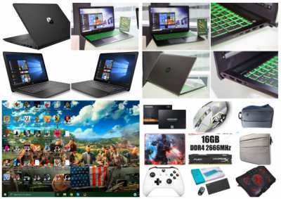 Gaming Laptop with 40 Games, Controller, and More