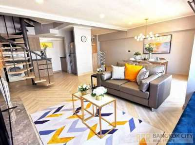 Thonglor Tower Condo Renovated Modern Luxury 2 Bedroom Duplex RentSale