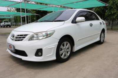 ขายรถยนต์ TOYATA ALTIS  รุ่น E-CNG  ปี 2010 จุดเด่นมาตรฐาน Toyota sure