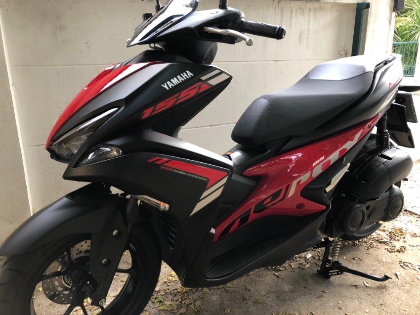 2019 Aerox 155 : Only 5,800 km New!
