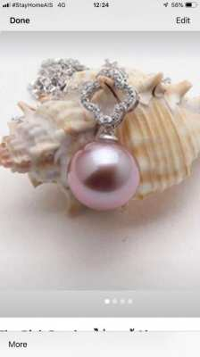 Akoya pendent with silver 925 price 1,500
