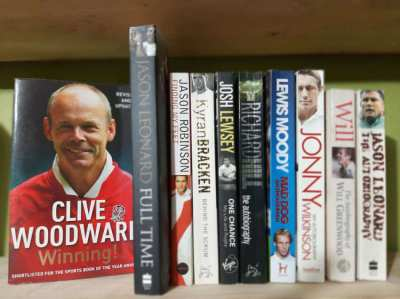 Rugby World Cup Winners - 7 Autobiographies