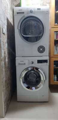 Washer & tumble dryer - made in Germany