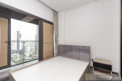 The Line Asoke Ratchada Luxury Condo High Floor 1 Bedroom Unit Rent