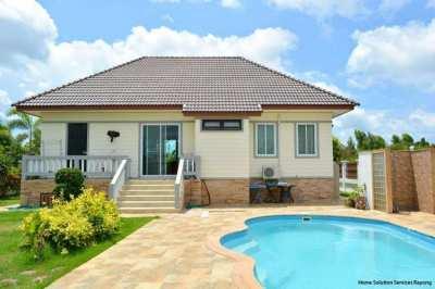 Very attractive 3 bedroom pool villa close to Mae Ramphueng beach