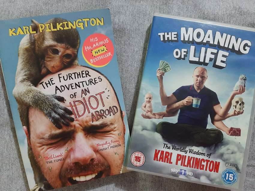 Karl Pilkington - Further Adventures of an Idiot Abroad/Moaning of Lif