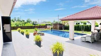 1 Rai 4 bedrooms Bang Saray Luxury Pool Residence