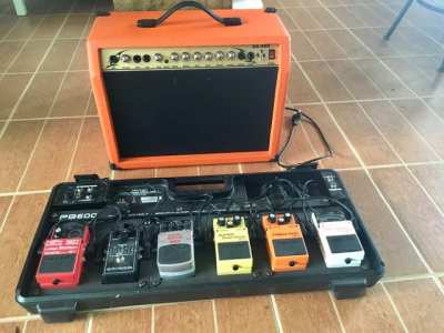 Guitar Amp & Pedalboard, fully equipped