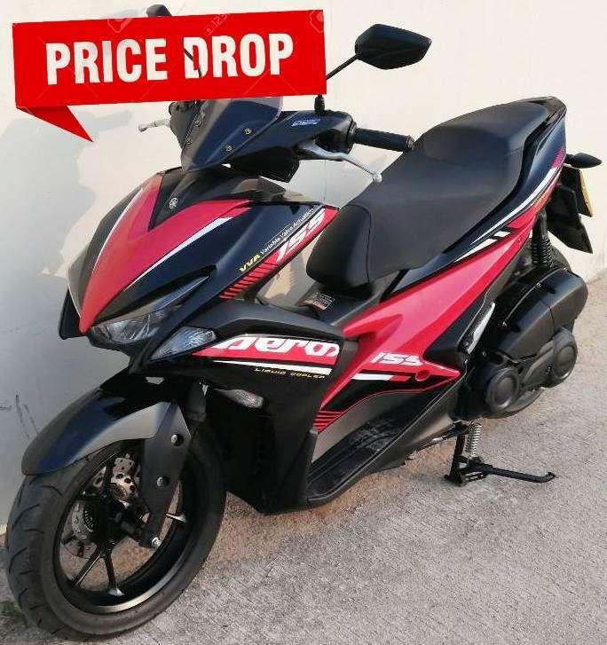 05/2019 Yamaha Aerox 155 49.900 ฿ Finance by shop