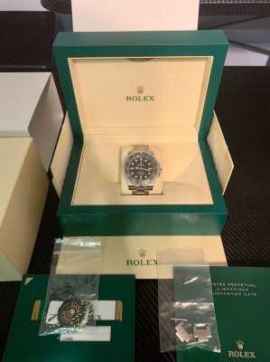 FS: Rolex Submariner 114060 No Date Complete