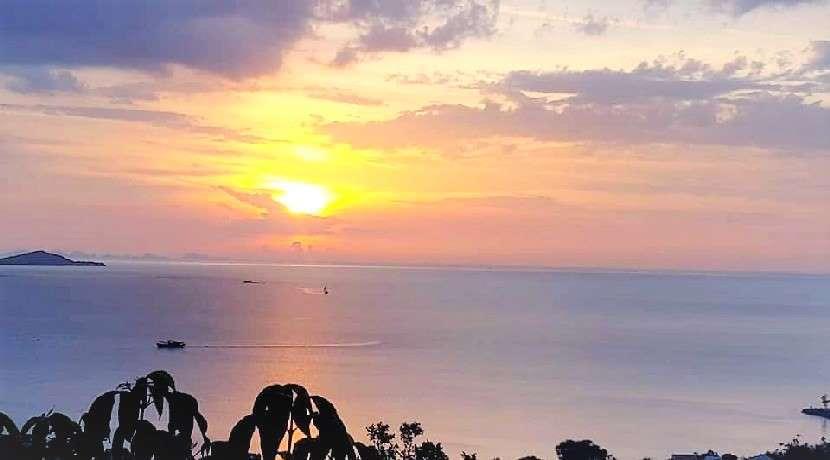 For sale sea view lands in Bangrak Koh Samui 1150m² - 1160m² - 1180m²