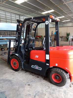 Forklift- Near New Wecan 3 Ton Capacity Diesel Powered