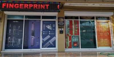SCORPION  SECURITY DOORS and DIGITAL FINGERPRINT LOCK